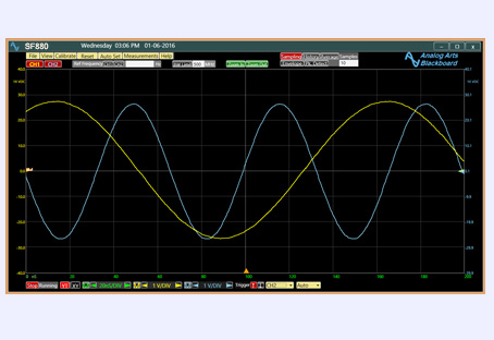 USB Oscilloscope Analog Arts