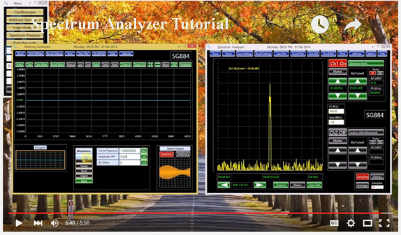 Spectrum Analyzer Tutorial Youtube